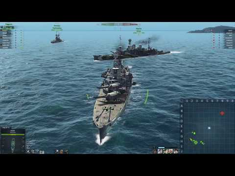 T5 UK BB (Repulse) Mission FAILED - Steel Ocean Gameplay