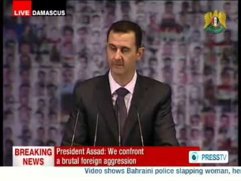 Full Speech of Dr. Bashar al-Assad President of the Syrian Arab Repubblic, Damascus 06/01/2013
