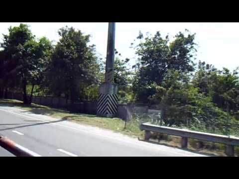 Bus Ride from Bocaue Exit to Caloocan City via North Luzon Expressway