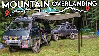 homepage tile video photo for Is The JDM 4X4 Van Any Good at Overlanding?