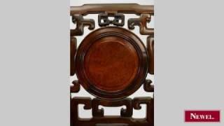 Antique 3 Pair Oriental Chinese Style (19th Cent) Rosewood