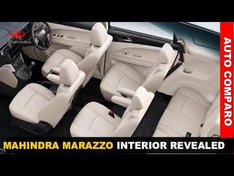 Mahindra Marazzo 7 & 8 Seater Variants Interior Revealed