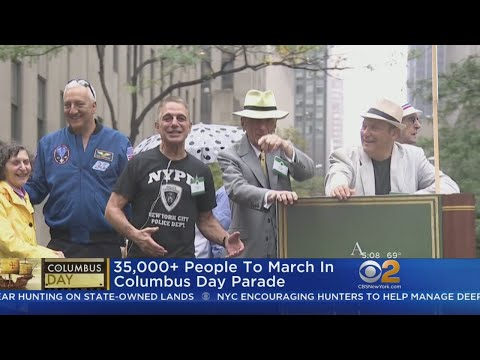 Columbus Day Celebrations In New York