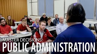 Master Decisions: Public Administration, Angela Pool-Funai