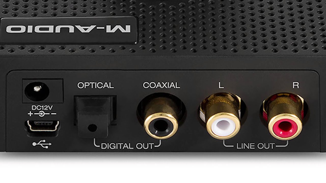 M-Audio SUPERDAC 24-Bit / 192kHz USB Audio DAC With Analog