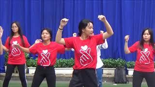 Trường THCS Lê Lai: Hội thi chào mừng ngày 20/11 - Phần thi Dân vũ