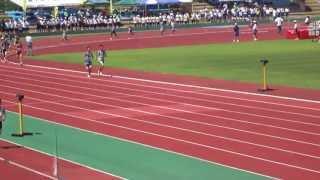 第59回全日本中学校通信陸上競技福井県大会 共通男子1500m決勝