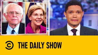 Did Bernie Say That A Woman Couldn't Be President? | The Daily Show With Trevor Noah