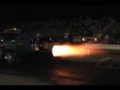 Diamond Jim Jet Funny Car @ Curacao International Raceway