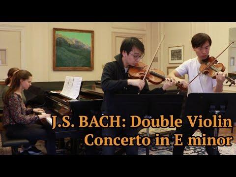 NEWLY DISCOVERED: J.S. Bach Double Violin Concerto in E minor