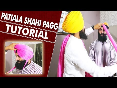 GROOMING Tips How to Carry PHYSICAL FITNESS in PUBLIC | PATIALA SHAHI PAGG TUTORIAL thumbnail