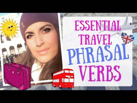 Essential Phrasal Verbs for TRAVEL | ''GET ON/OFF/IN'' ''SEE OFF'' ''SET OFF'' & MORE!!!