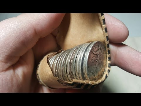 MEGASCORE!!! COIN ROLL HUNTING HALF DOLLARS!!!