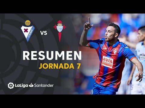 Resumen de SD Eibar vs RC Celta (2-0)