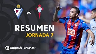 Resumen de SD Eibar vs RC Celta (2-0)