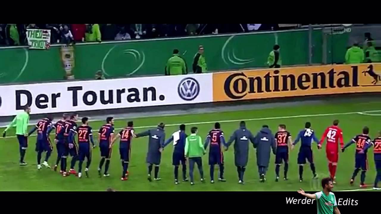 Cup Fighters Werder Bremen Dfb Pokal 20152016 Werder Edits