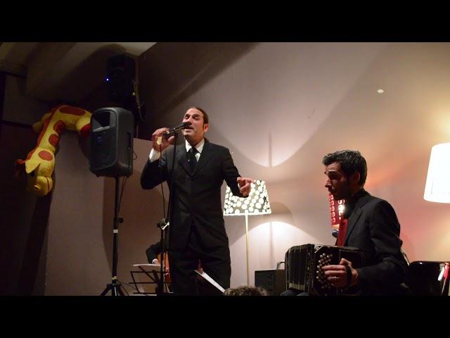 Ruben Pelon & Los Tanturi   9dic2017   Tango Dispari