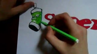 Видео: Как нарисовать граффити? #4(обучающее видео по рисованию граффити карандашом поэтапно. урок 4., 2015-12-27T20:15:27.000Z)