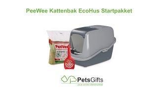 PeeWee Kattenbak EcoHus - Nieuwste generatie kattenbaksystemen.