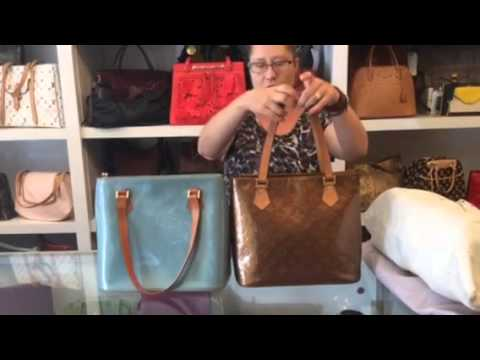 Rejected Consignment: Fake Louis Vuitton Vernis Houston Bag