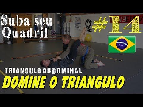 Jiu Jitsu e a importancia de Subir o quadril para aplicar o Triangulo
