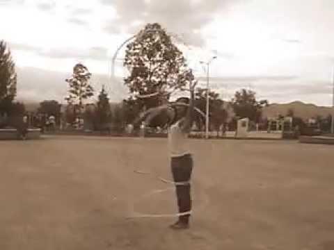 Entrenamiento 5 hula hoops
