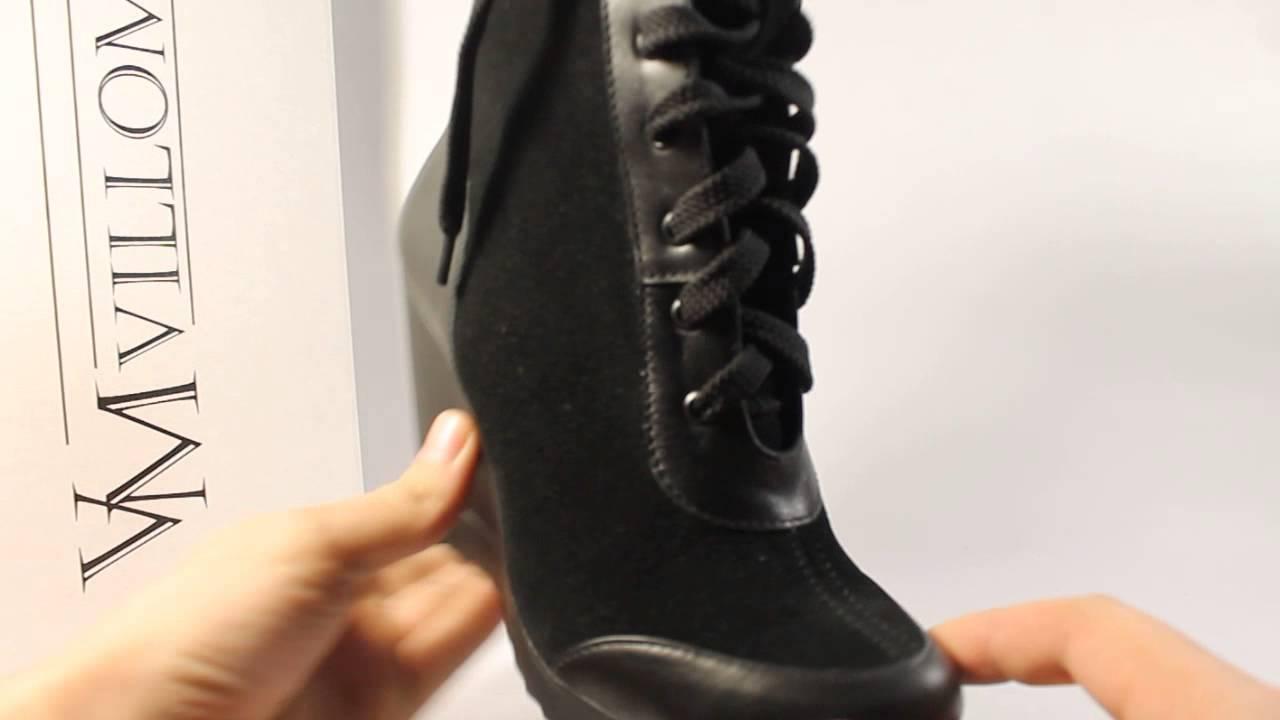 Замшевые ботинки на платформе - YouTube