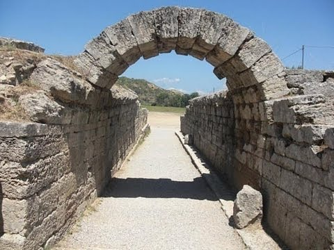 ANCIENT SANCTUARY OF OLYMPIA, GREECE