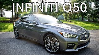 INFINITI Q50 Review - AWD Sport Sedan 2014