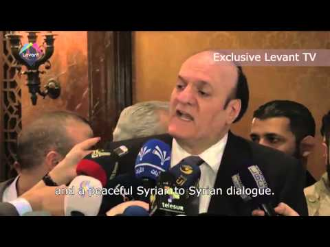 Syria presidential election Interview Hassan al Nouri