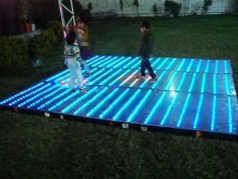 Home made led dance floor youtube solutioingenieria