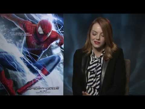 """Emma Stone: """"I love the banter with Peter Parker """" in The Amazing Spider-Man 2 - 2014 interview"""