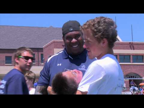 Dare to Play Football Camp with Ed McCaffrey 2014