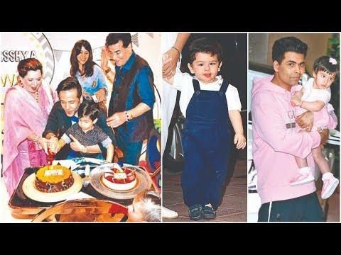 Bollywood Celebs Attend Tusshar Kapoor Son Laksshya Kapoor 3rd Birthday Party At Mojo Kids