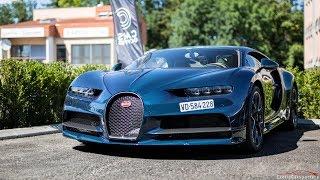 $4 MILLION Full Carbon Bugatti Chiron - Crazy Fast Accelerations !