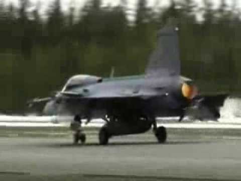 Saab JAS-39 Gripen Take-off