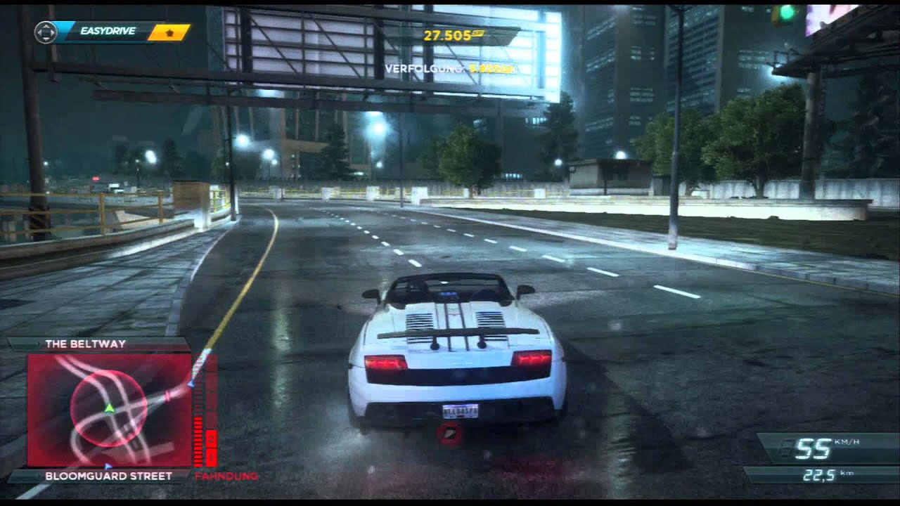 HD Gameplay: Need for Speed Most Wanted - Lamborghini ...