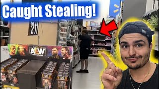 CAUGHT STEALING! TOY HUNTING HIDDEN SPOTS! Marvel Legends Neca toys ,WWE, AEW, Pokemon & More!