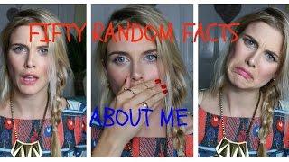 50 random facts about me | Ashley James