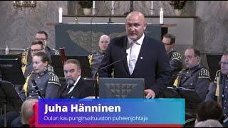 Sankarihautojen tarinat - Hankkeen julkistamistilaisuus Oulun tuomiokirkossa, Juha Hännisen puhe