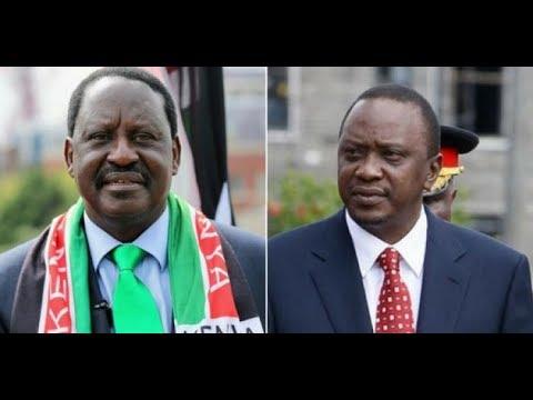 President Uhuru rolls out a programme that would accommodate Raila Odinga's supporters