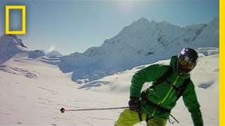 Extreme Backcountry Skiers | Alaska Wing Men
