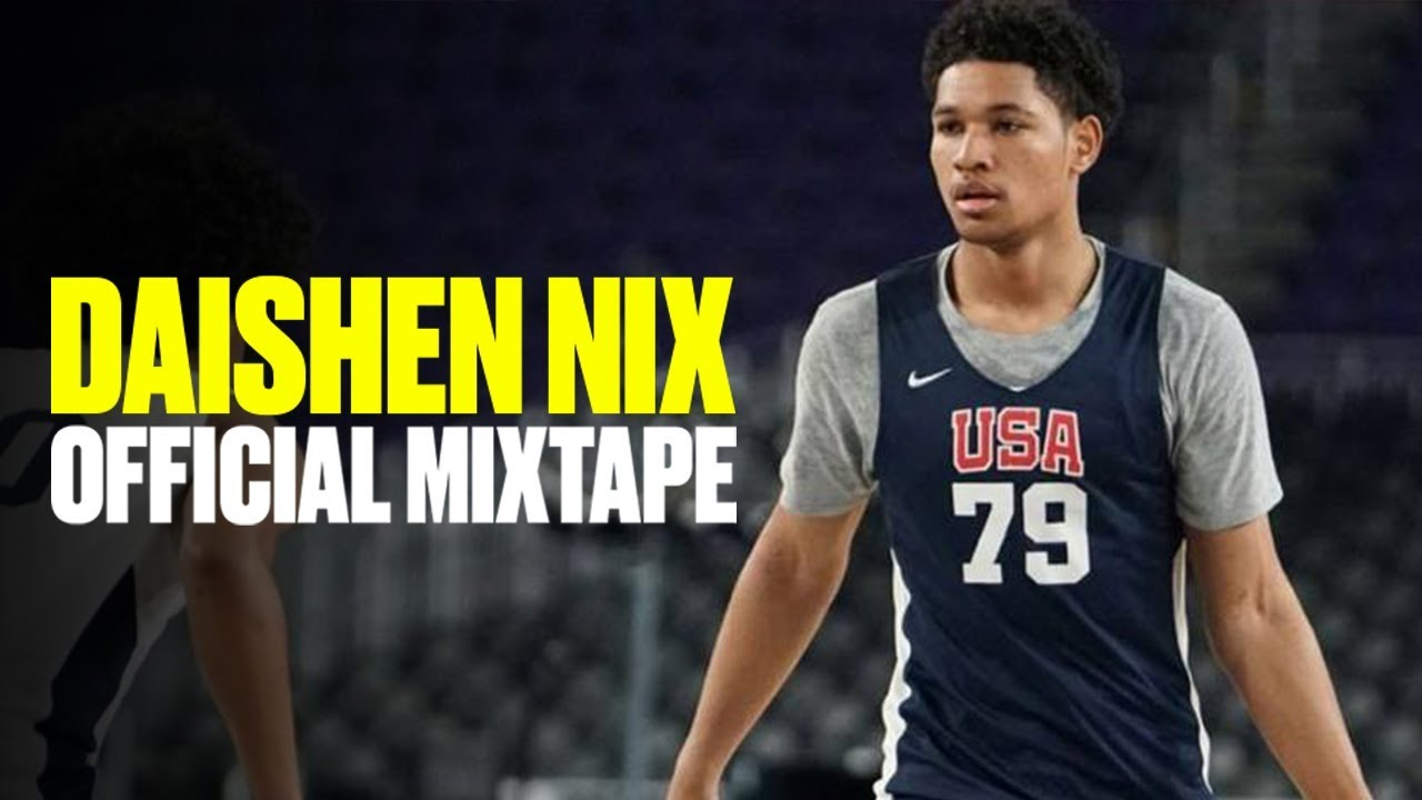 Five-Star Point Guard Daishen Nix Is a UCLA COMMIT! - Official Mixtape