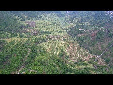 Jiangxi Province China drone (4K)