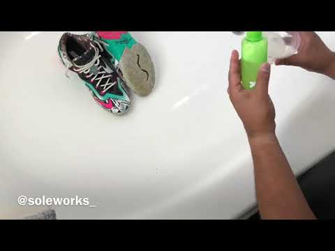 Deep Clean Nike Lebron 11 Nike ID + Sole Yellowing @soleworks_