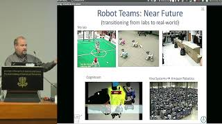 Computer Science | D3S4 15/18 AI & Autonomous Systems – Part II - Smart Swarms in... - Gal Kaminka