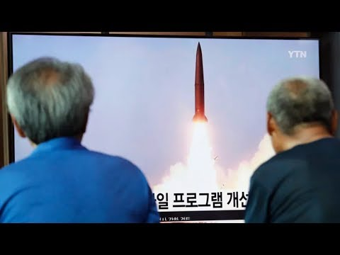 North Korea fires 2 more projectiles into sea, South Korea reports