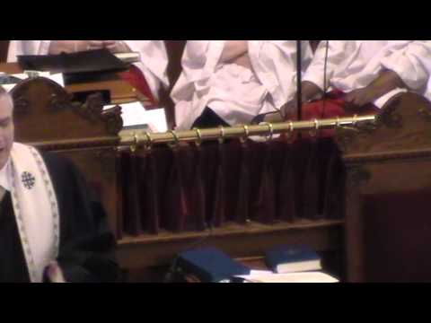 Worship at First Presbyterian Church May 26, 2013