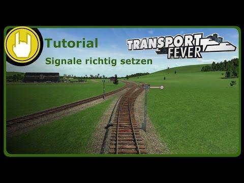 Transport Fever: Signale richtig setzen [Tutorial/schweizerdeutsch]