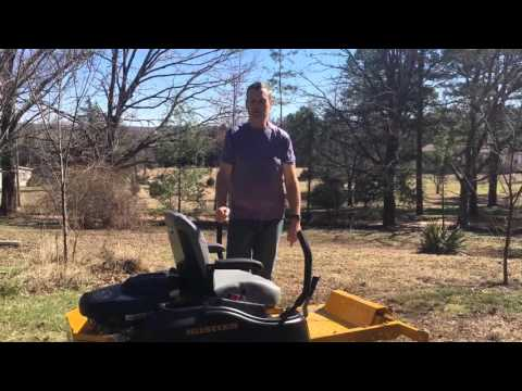 hustler mower troubleshooting
